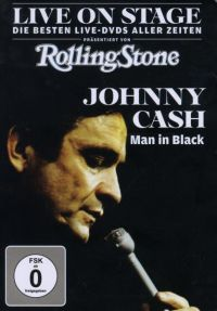 Cover Johnny Cash - Live On Stage - Man In Black [DVD]